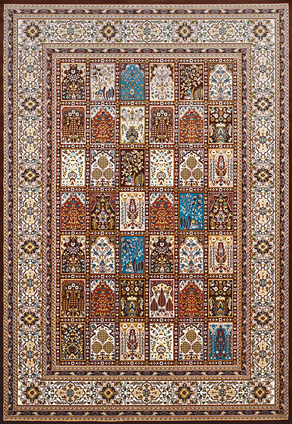 United Weavers - Antiquities Rug Collection - MECCA DARK BROWN (1900-01955)