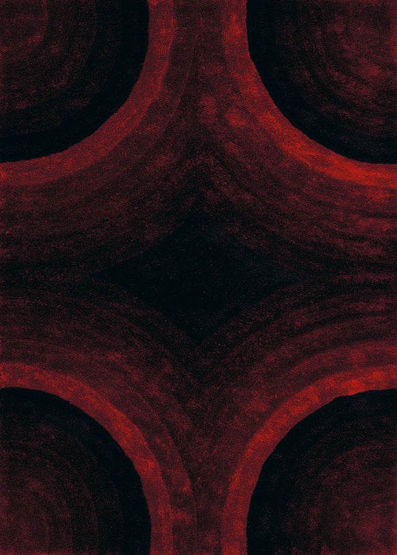 United Weavers - Finesse Rug Collection - ASTRAL RED (2100-20230)