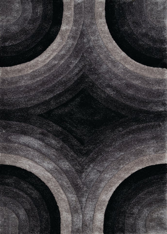 United Weavers - Finesse Rug Collection - ASTRAL BLACK (2100-20270)