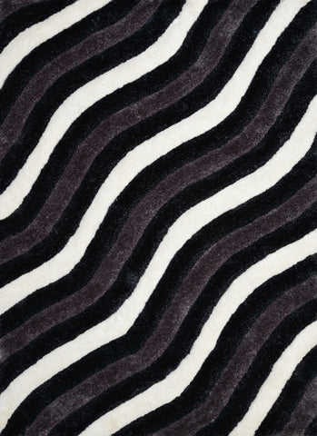United Weavers - Finesse Rug Collection - SHOWERS BLACK (2100-20470)