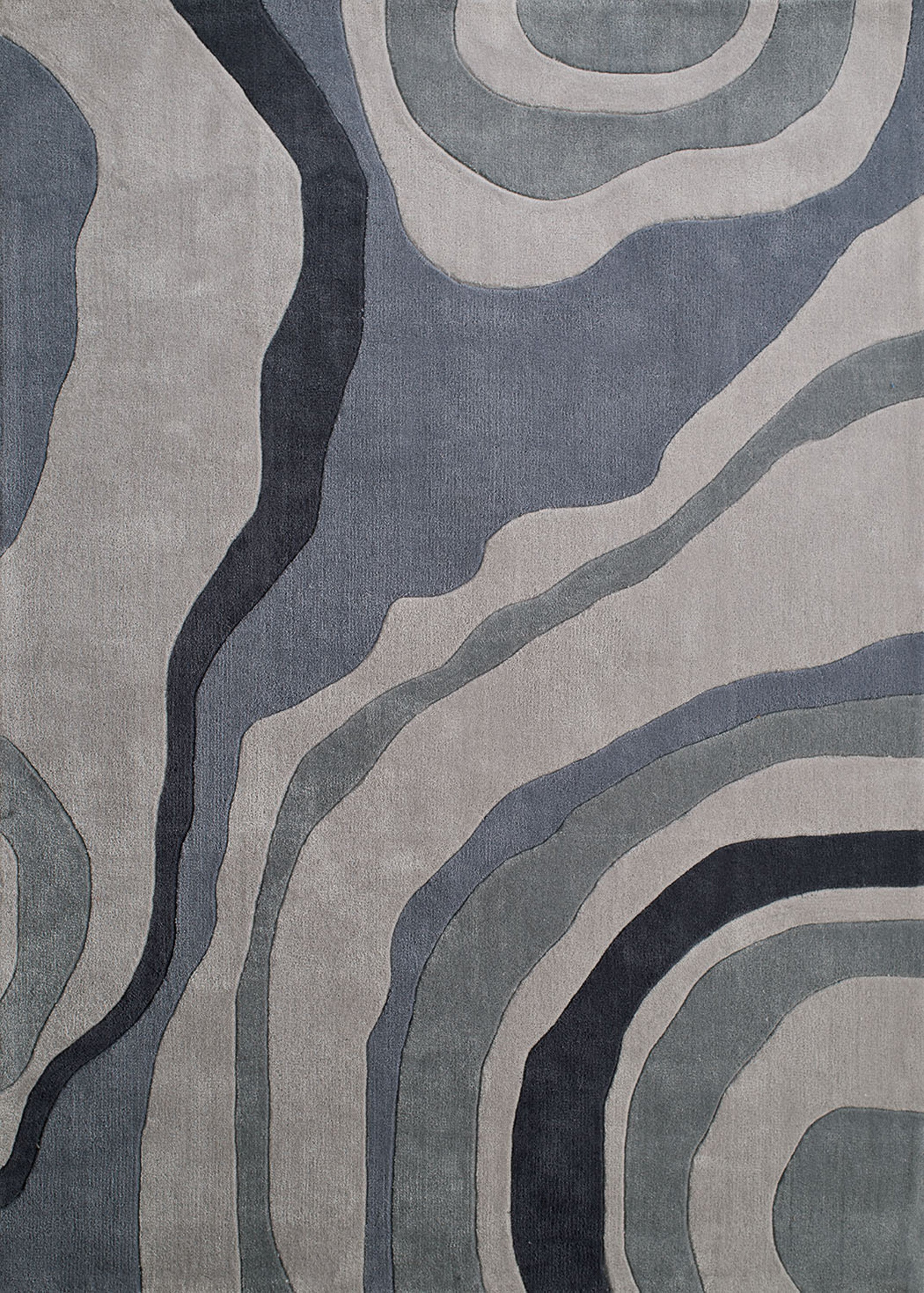 United Weavers - Seattle Rug Collection -  SHAPES GREY (2200-10372)