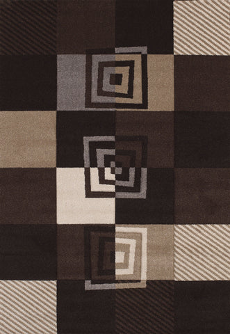United Weavers - Townshend Rug Collection - VIBES BLACK (401-00470)