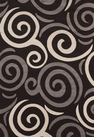 United Weavers - Townshend Rug Collection -PINBALL BLACK (401-00770)