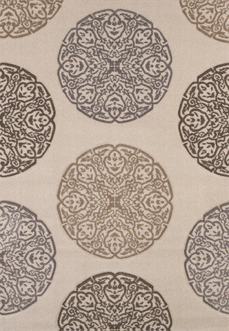 United Weavers - Townshend Rug Collection -GAZE CREAM (401-01990)