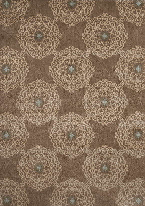 f United Weavers - Nouveau Rug Collection - CHAMBORD TAUPEL (421 10694)