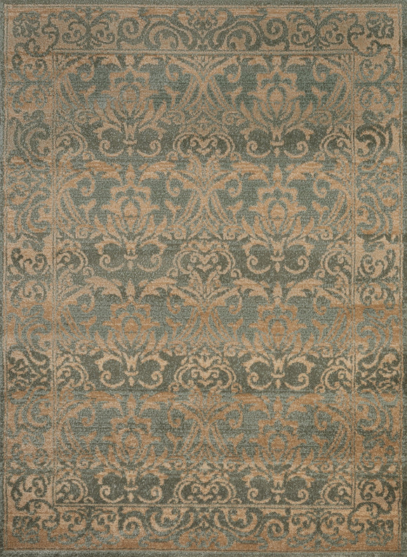 United Weavers - Nouveau Rug Collection - SONATA SEAFOAM (421 11241)
