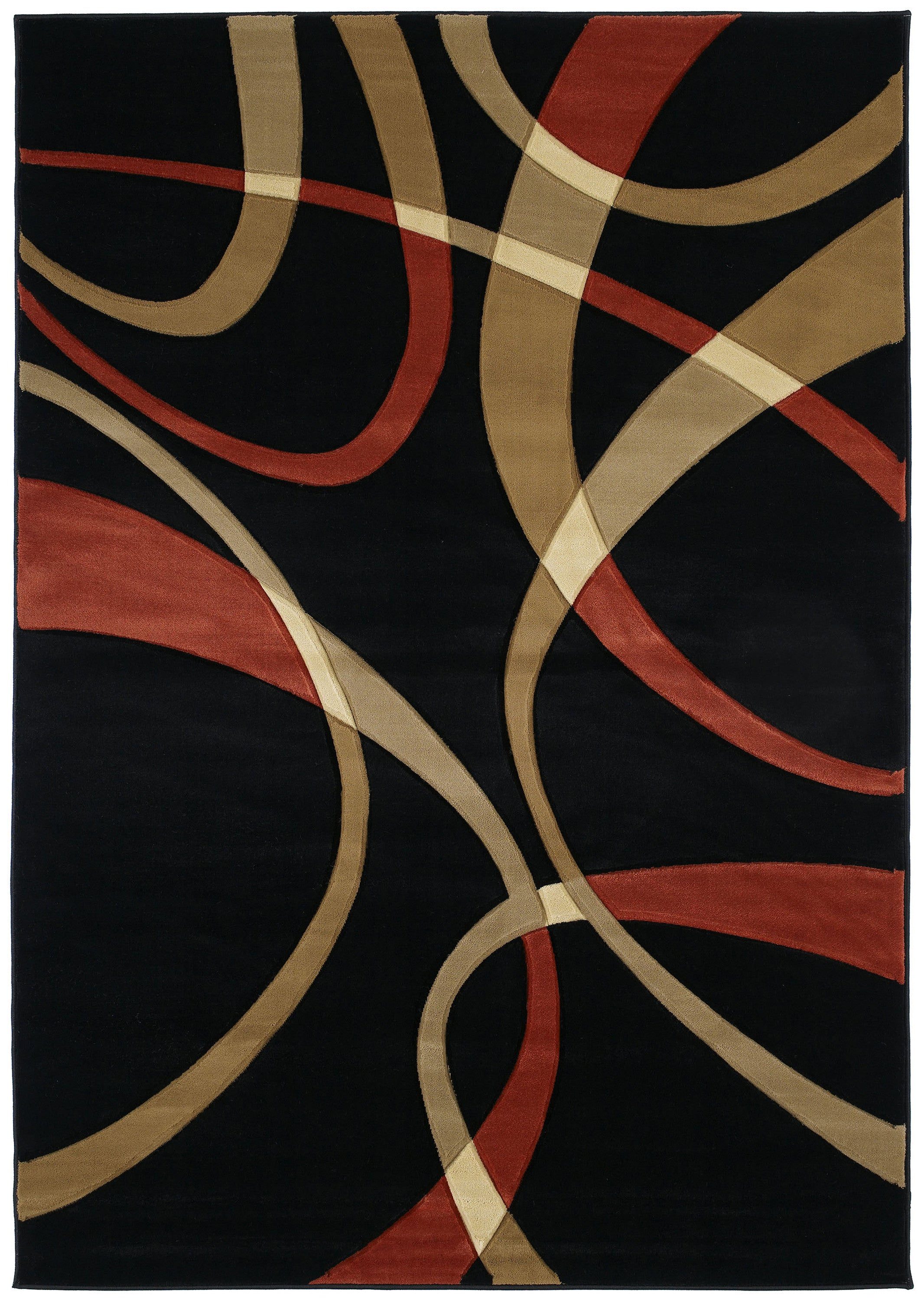 United Weavers - Contours Rug Collection - LA-CHIC TERRACOTTA (510-21329)