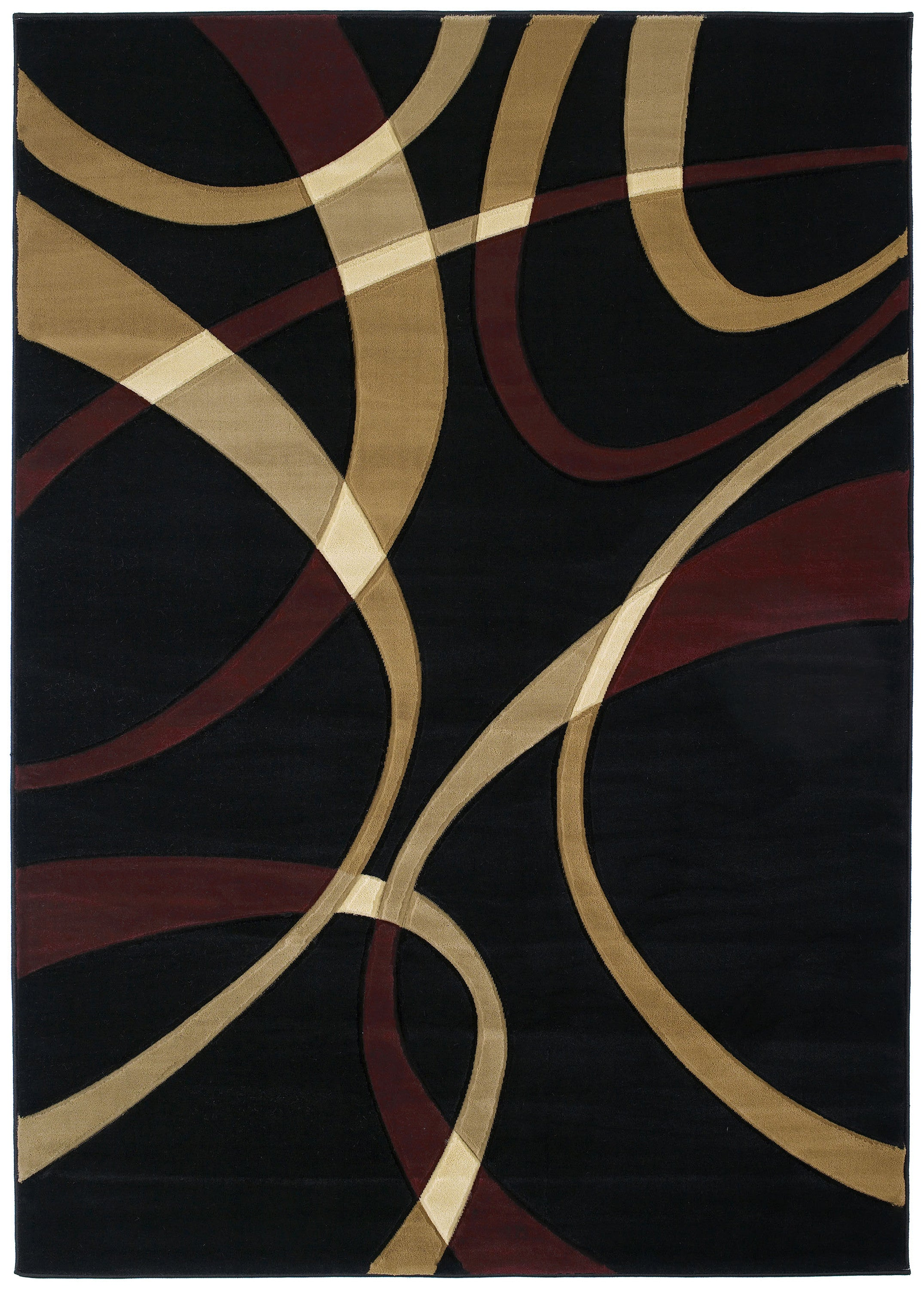 United Weavers - Contours Rug Collection - LA-CHIC ONYX (510-21376)