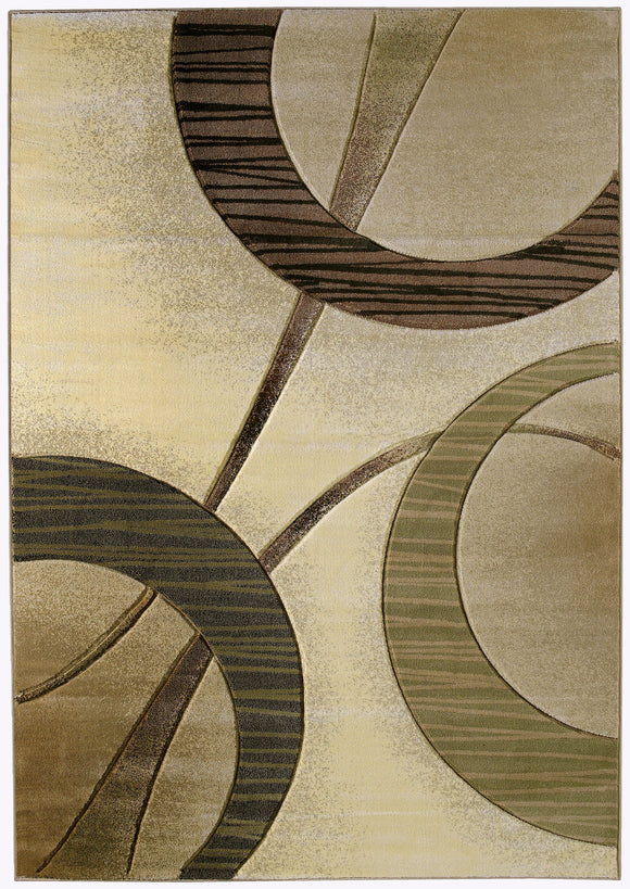 United Weavers - Contours Rug Collection - ZAGA CREAM (510-22090)