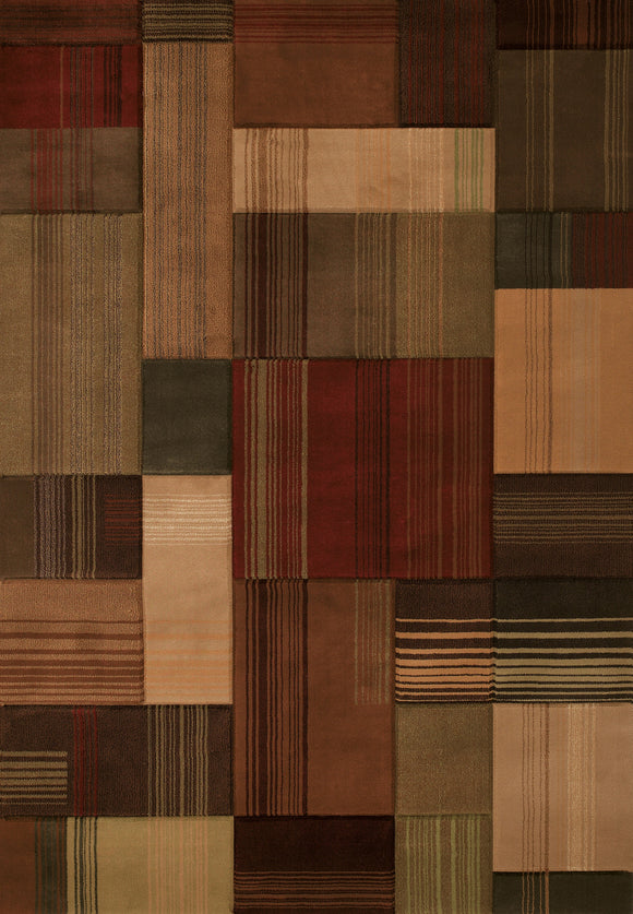 United Weavers - Contours Rug Collection - TRANSITION TOFFEE (510-26659)