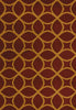 United Weavers - Contours Rug Collection - ISOMER BURGUNDY (510-28934)