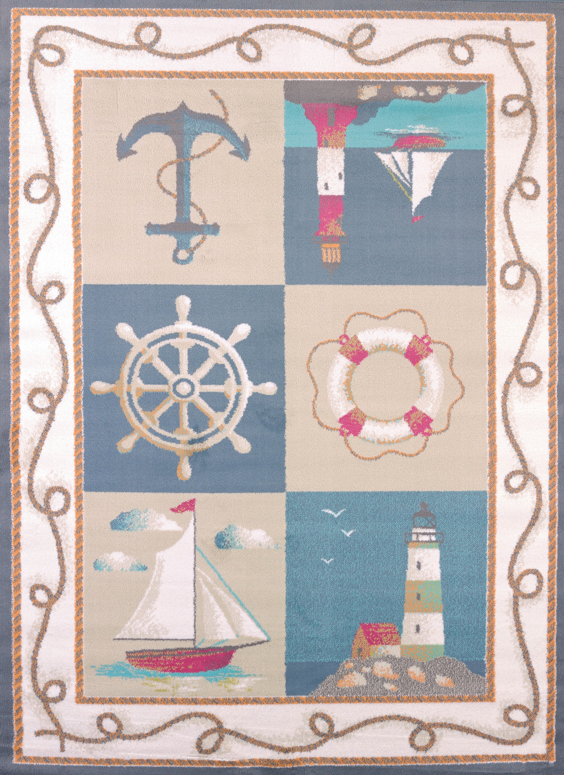 United Weavers - Regional Concepts Rug Collection -  MARITIME COAST BLUE (541-50060)