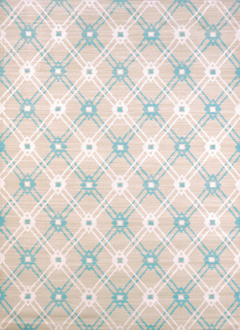United Weavers - Regional Concepts Rug Collection -  TRELLIS BLUE (541-50160)