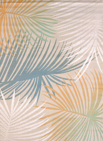 United Weavers - Regional Concepts Rug Collection - PALM LEAVES BLUE (541-50260)