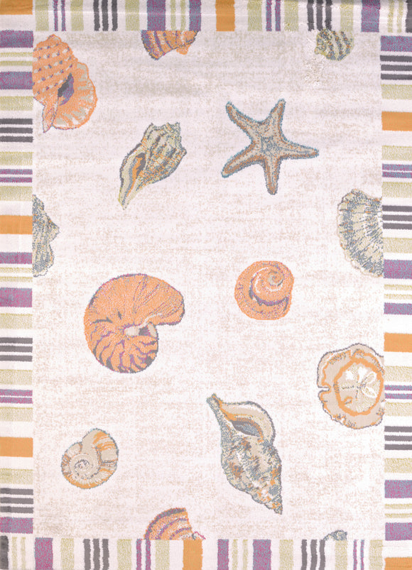 United Weavers - Regional Concepts Rug Collection - SAND AND SHELLS (541-50717)