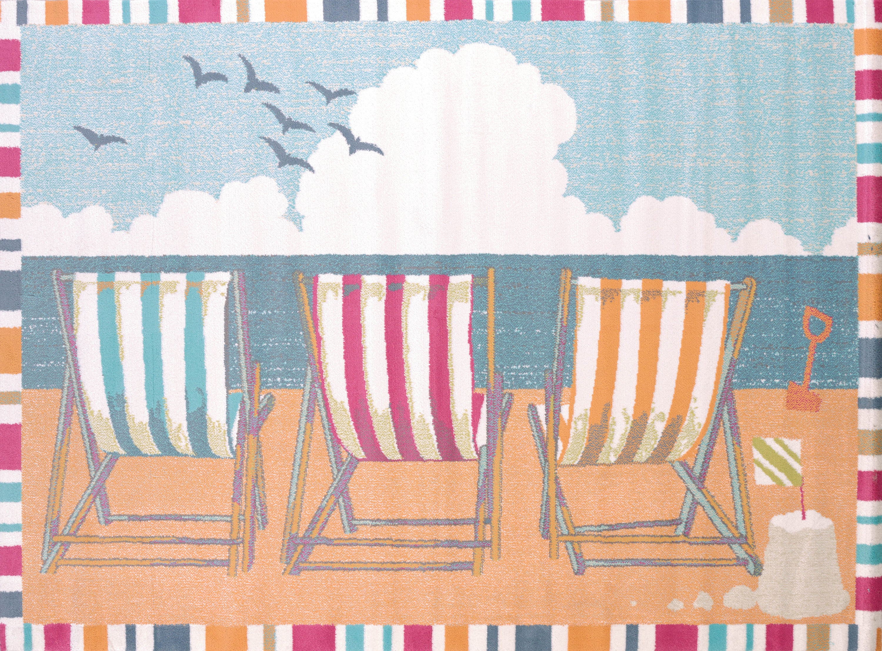 United Weavers - Regional Concepts Rug Collection - SEASIDE CHAIRS (541-50889)