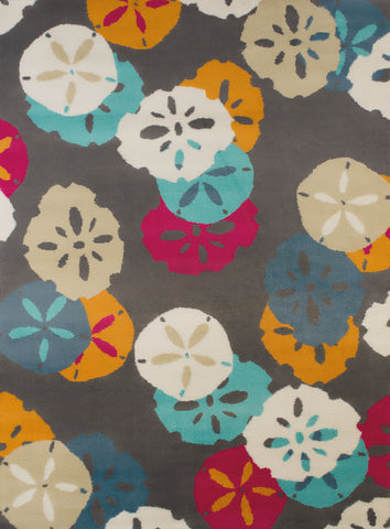 United Weavers - Regional Concepts Rug Collection -SAND DOLLARS  CHARCOAL  (541-51477)