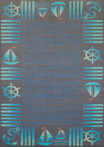 United Weavers - Regional Concepts Rug Collection - REGATTA BLUE  (541-51760)