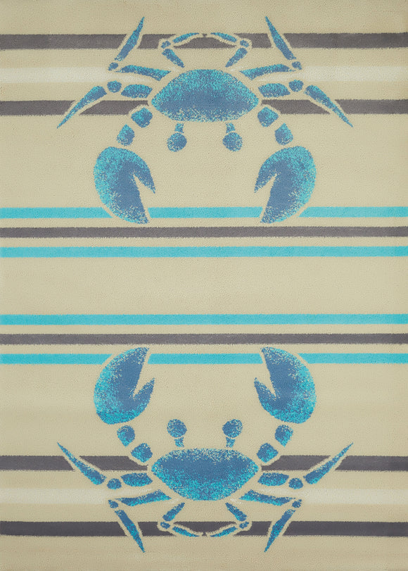 United Weavers - Regional Concepts Rug Collection -  CRABBEE BLUE (541-51860)