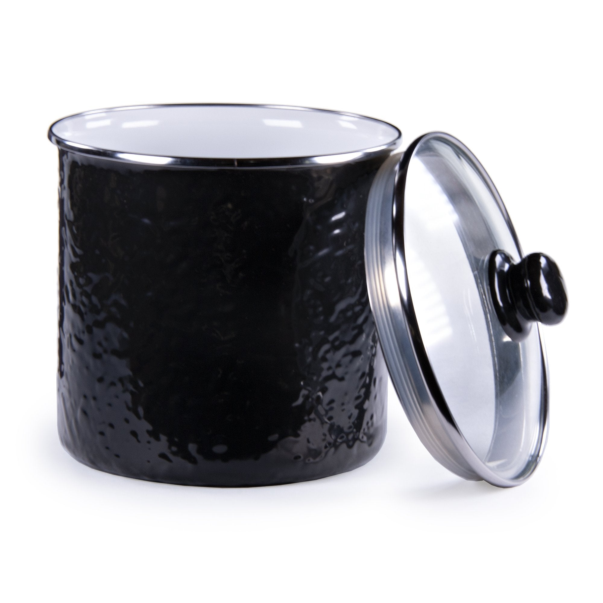 BK38 - Solid Black Canister Product 1