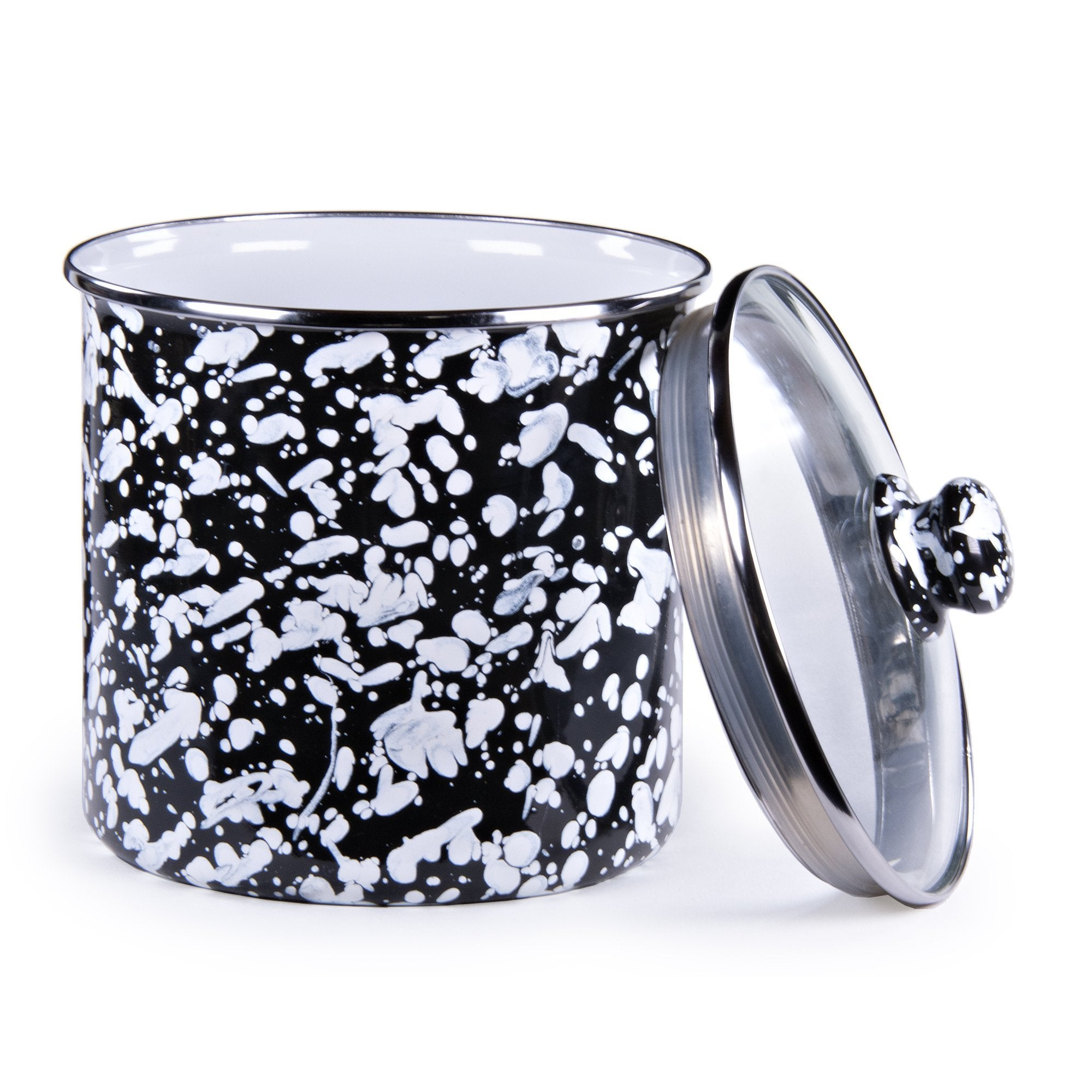 BL38 - Black Swirl Canister Product 1