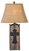CL0910 - Cross Table Lamp by Vintage Direct - ThunderHorseCabin.com