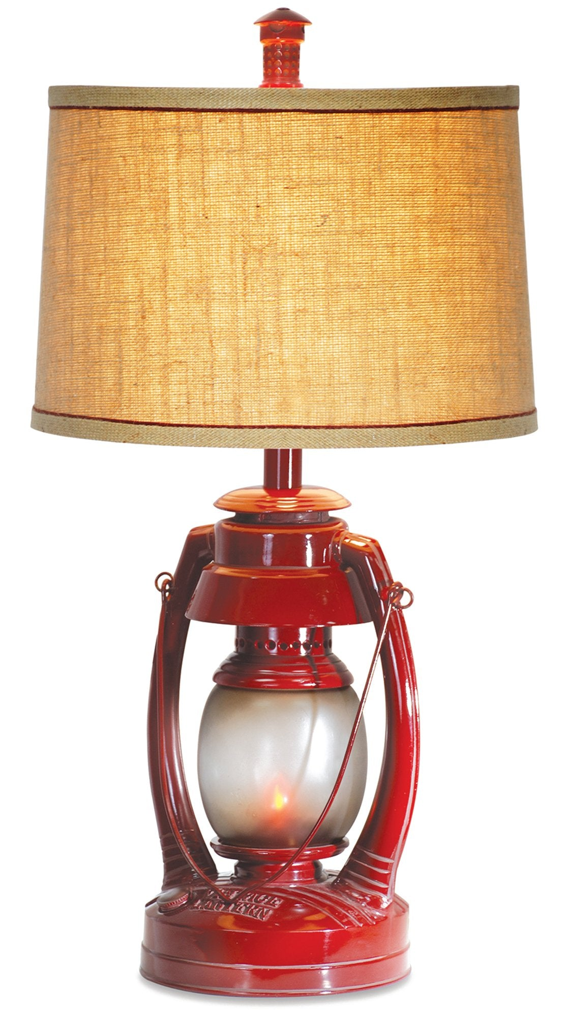 CL2395S -  VINTAGE LANTERN TABLE LAMP by Vintage Direct Lamps - ThunderHorseCabin.com