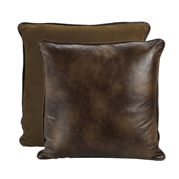ES1005 Faux Leather Euro Sham