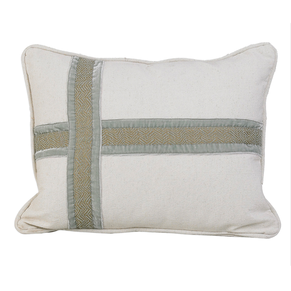 FB3801P2  Arlington Cross Design Pillow