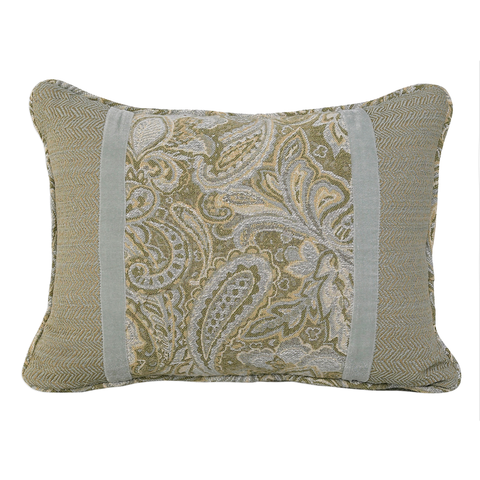 FB3801P4  Arlington Paisley Pillow