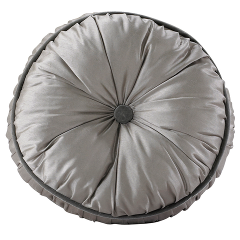 FB3840P4  Kerrington Buttoned Round Pillow