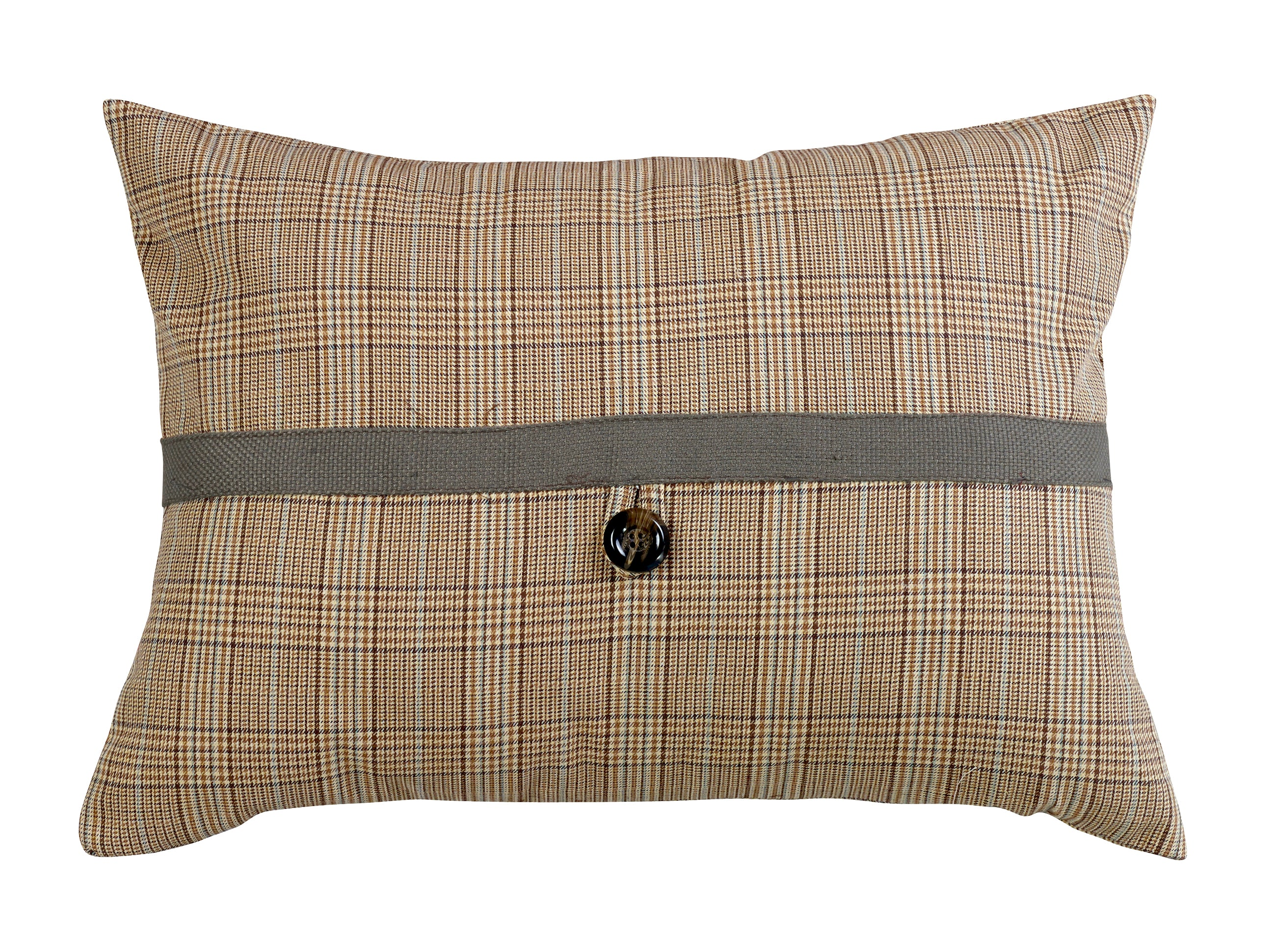 FB3950P3  Piedmont Plaid Pillow