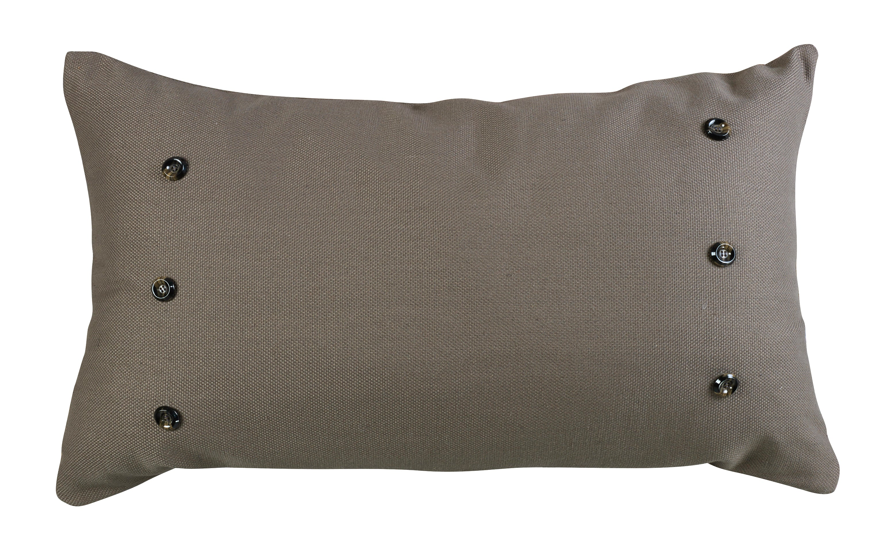 FB3950P4  Piedmont Large Taupe Grey Pillow