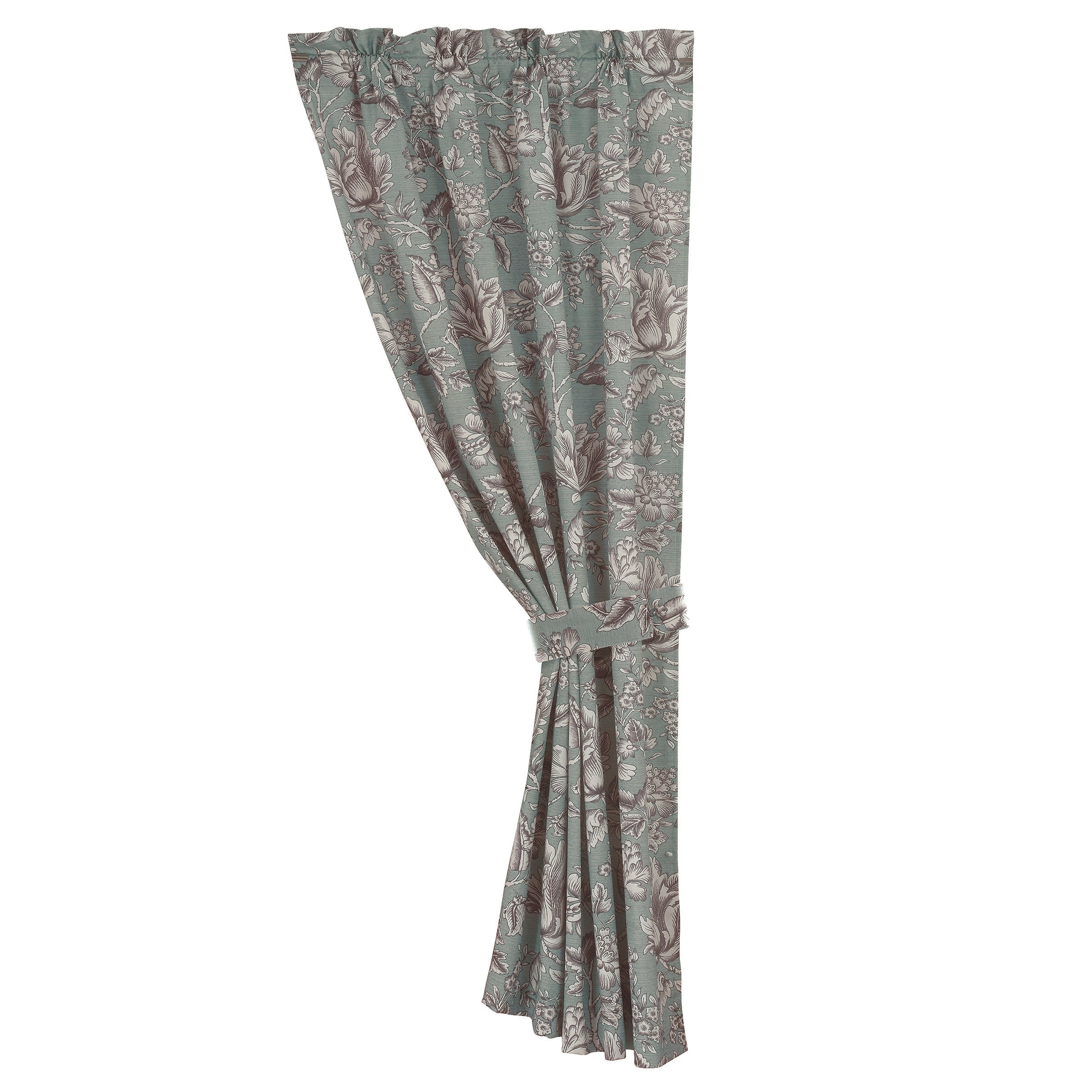 FB4160C1  Gramercy Floral Curtain Panel