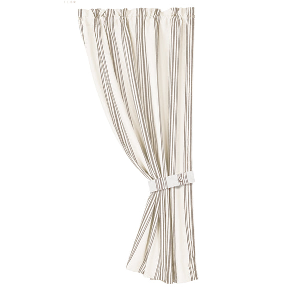 FB4160C2  Gramercy Striped Curtain Panel