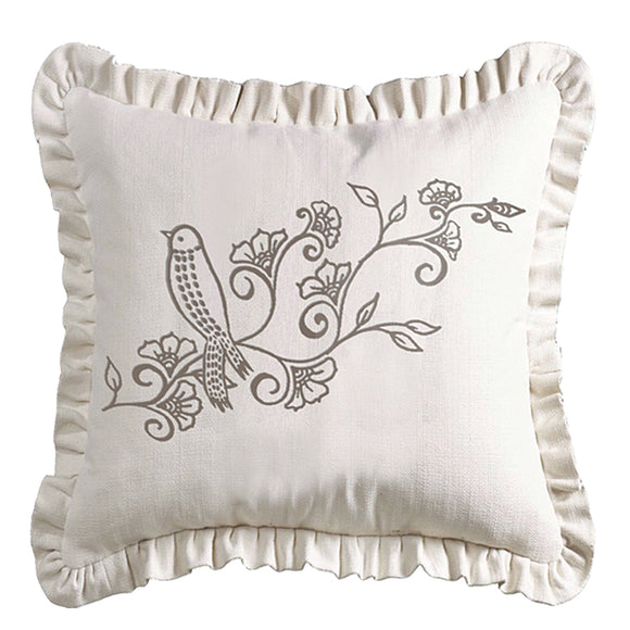 FB4160P3 - Gramercy White Linen Pillow