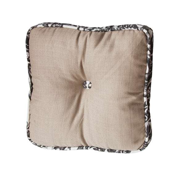 FB4162P3  Augusta Buttoned Boxed Pillow