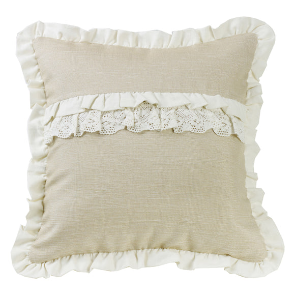 FB4900P6  Charlotte Ruffle Accent Pillow
