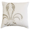 FB5400P7  Newport Embroidery Fleur De Lis Pillow