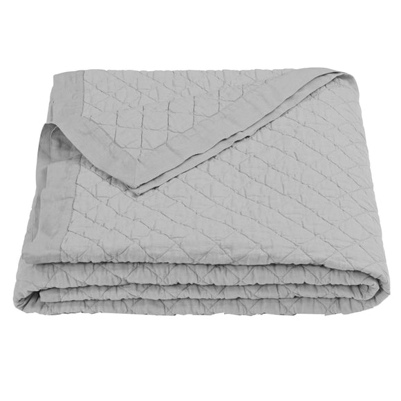 FB6100  Diamond Pattern Linen Quilt