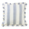 FB6200ES  Prescott Navy Euro Sham with Ruffle