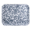 GY58S2 - Set of 2 - Grey Swirl -  10x13 Quarter Sheet Trays by Golden Rabbit