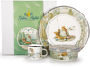 JF99 -  Enamelware Jeremy Fisher Pattern Child Dinner Set