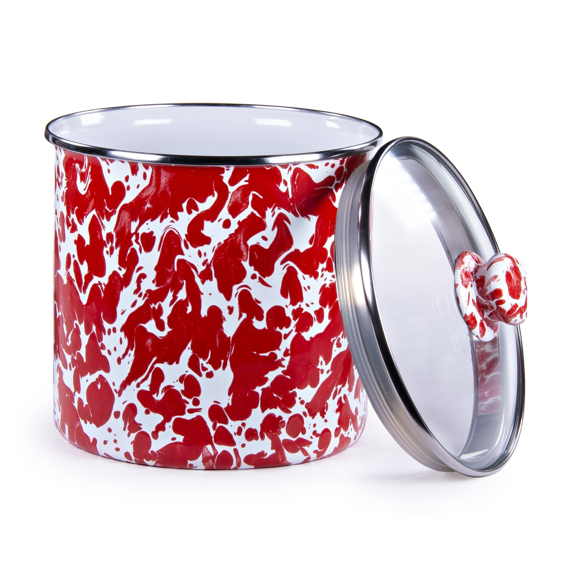 RD38 - Red Swirl Canister Product 1