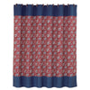 WS4011SC  Bandera Matching Shower Curtain
