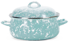 GL31 Sea Glass Swirl Pattern - Dutch Oven by Golden Rabbit