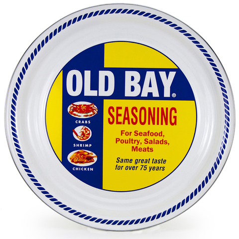 OB01 Old Bay Large Serving Tray