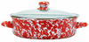 RD79 Red Swirl Small Saute Pan
