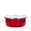 RR60S4 - Set of 4 Solid Red Soup Bowls Product 1