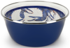 SE61 - Blue Crab Pattern - Salad Bowl by Golden Rabbit